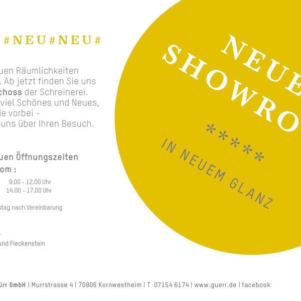 neuer Showroom