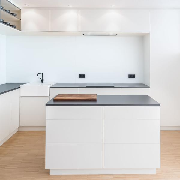 offene Küche weiß